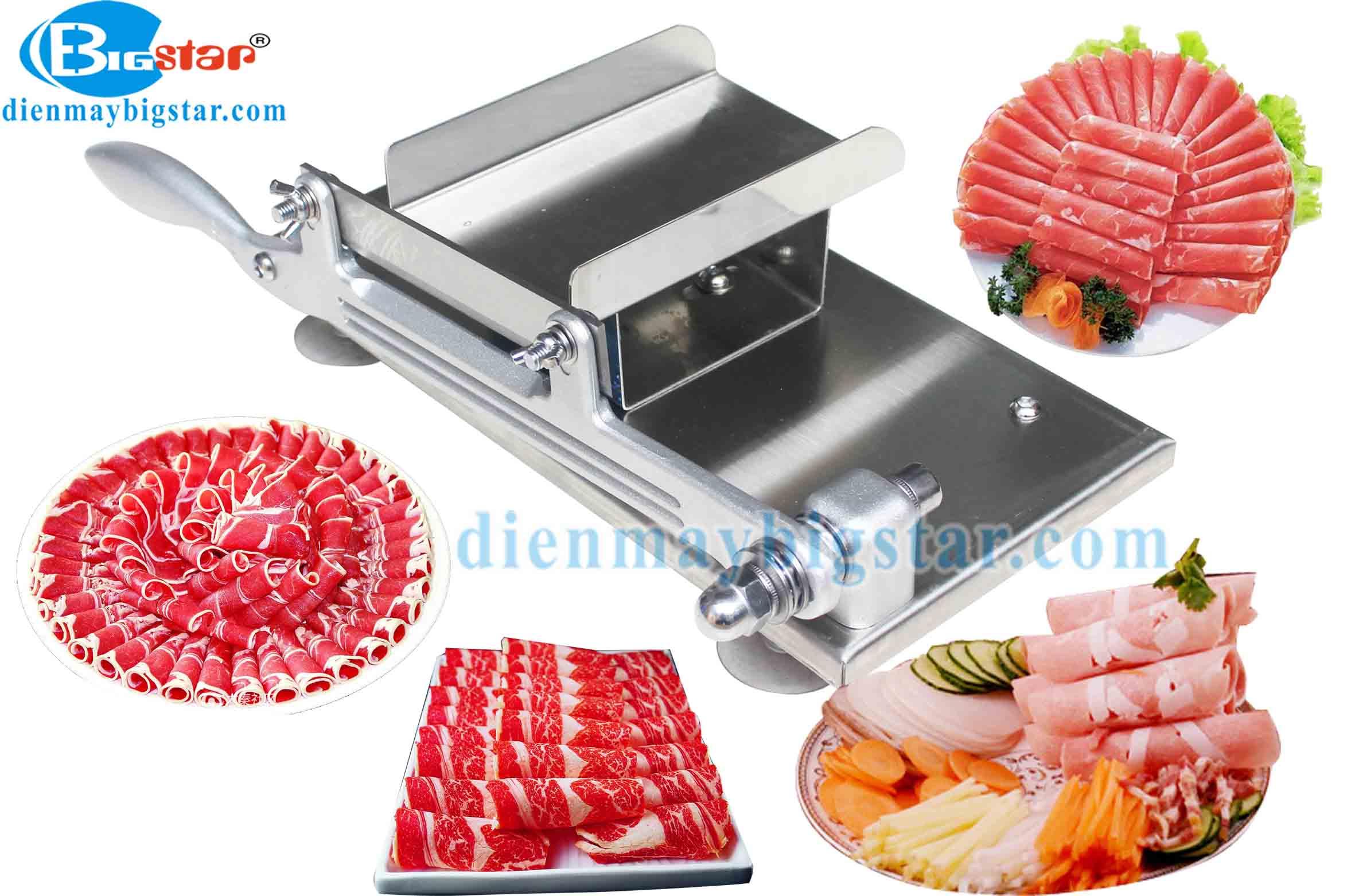 máy cắt thịt chín bigstar