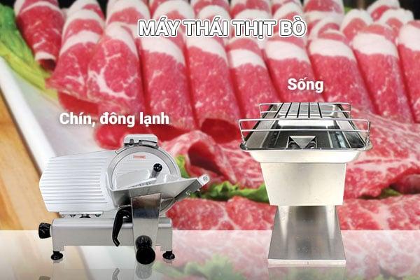 chon dung loai may thai thit bo